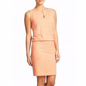 Athleta Dresses - Athleta Vida blouson stretch linen blend dress S